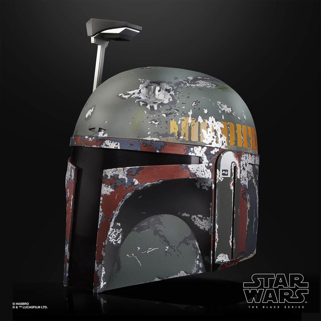 Boba Fett Electronic Helmet: Star Wars Black Series - 2
