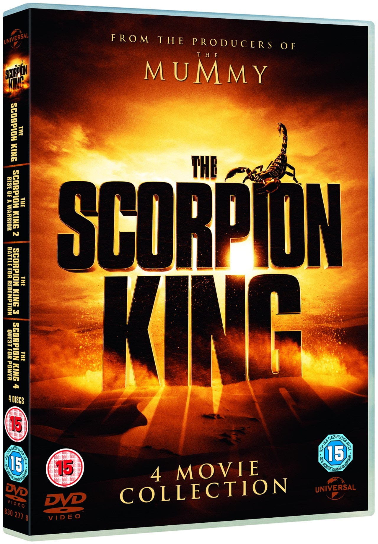 The Scorpion King: 4-movie Collection - 2