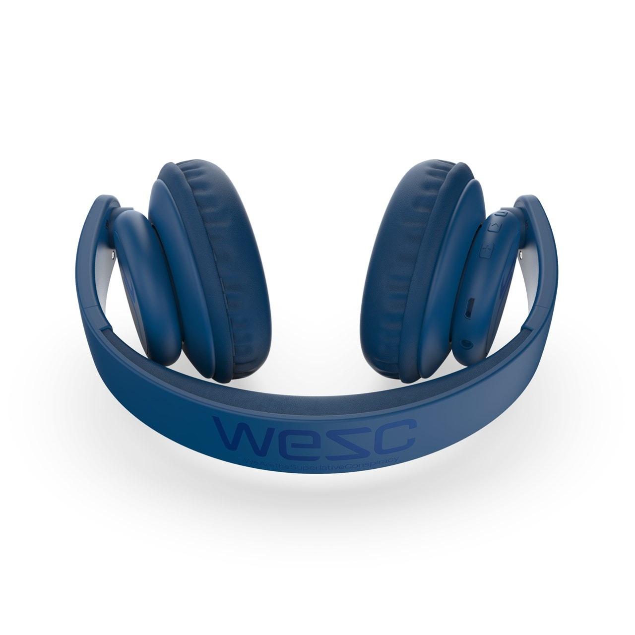 WeSC Navy Blue Bluetooth Headphones - 4