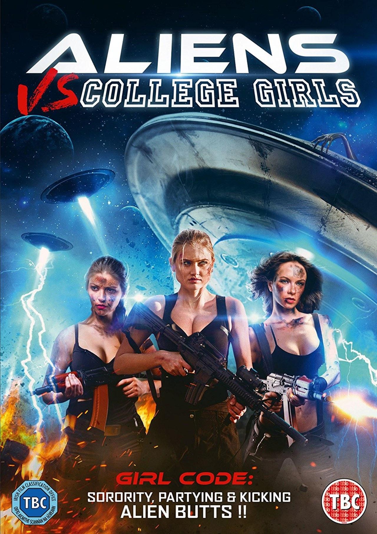 Aliens Vs College Girls - 1