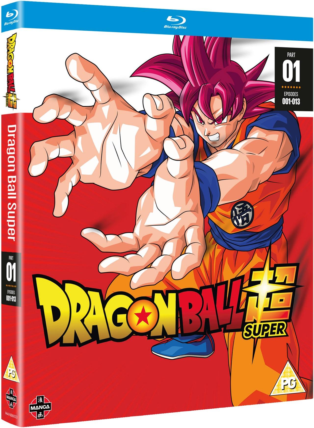 Dragon Ball Super: Season 1 - Part 1 - 2