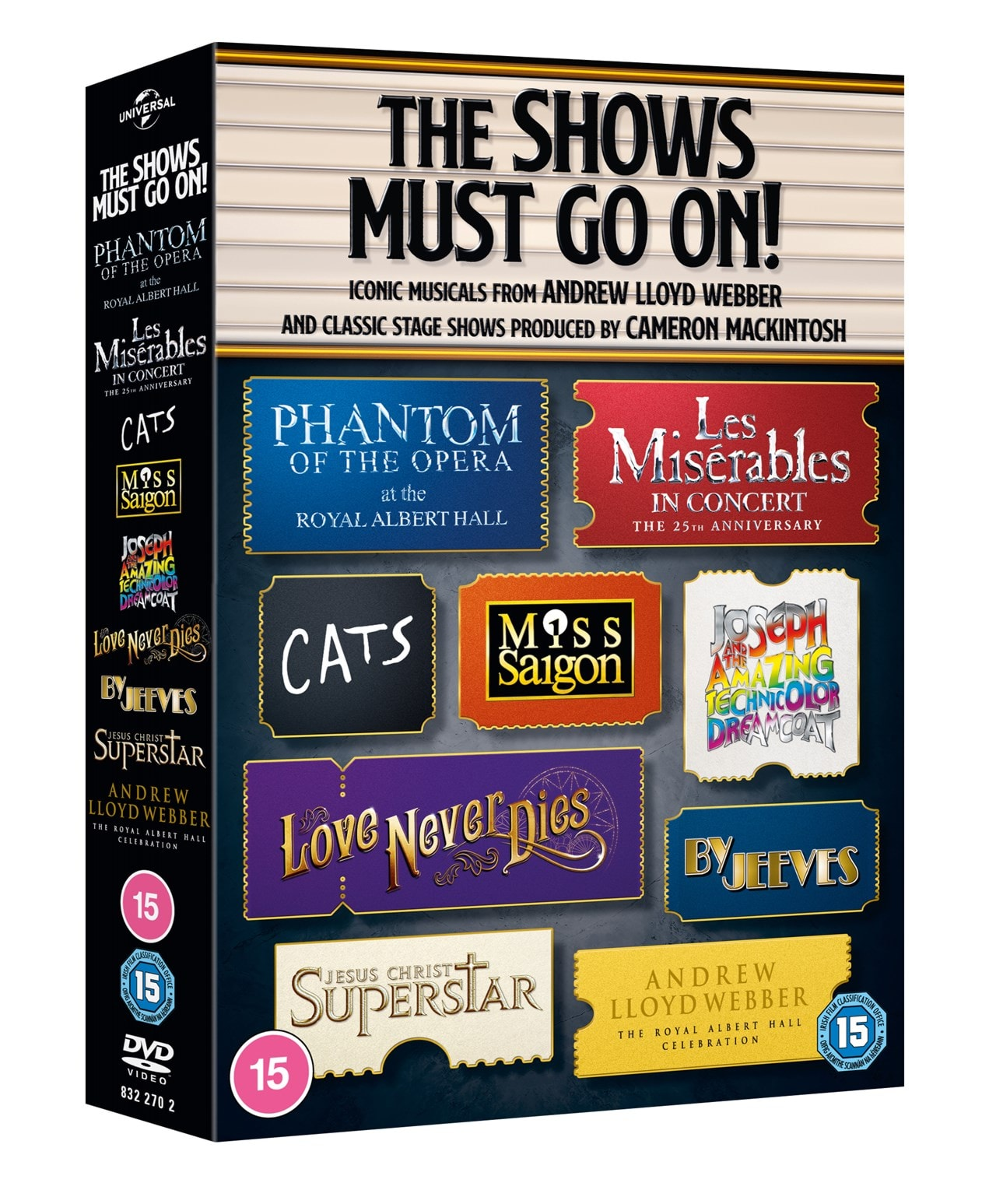 The Shows Must Go On! Ultimate Musicals Collection - 2