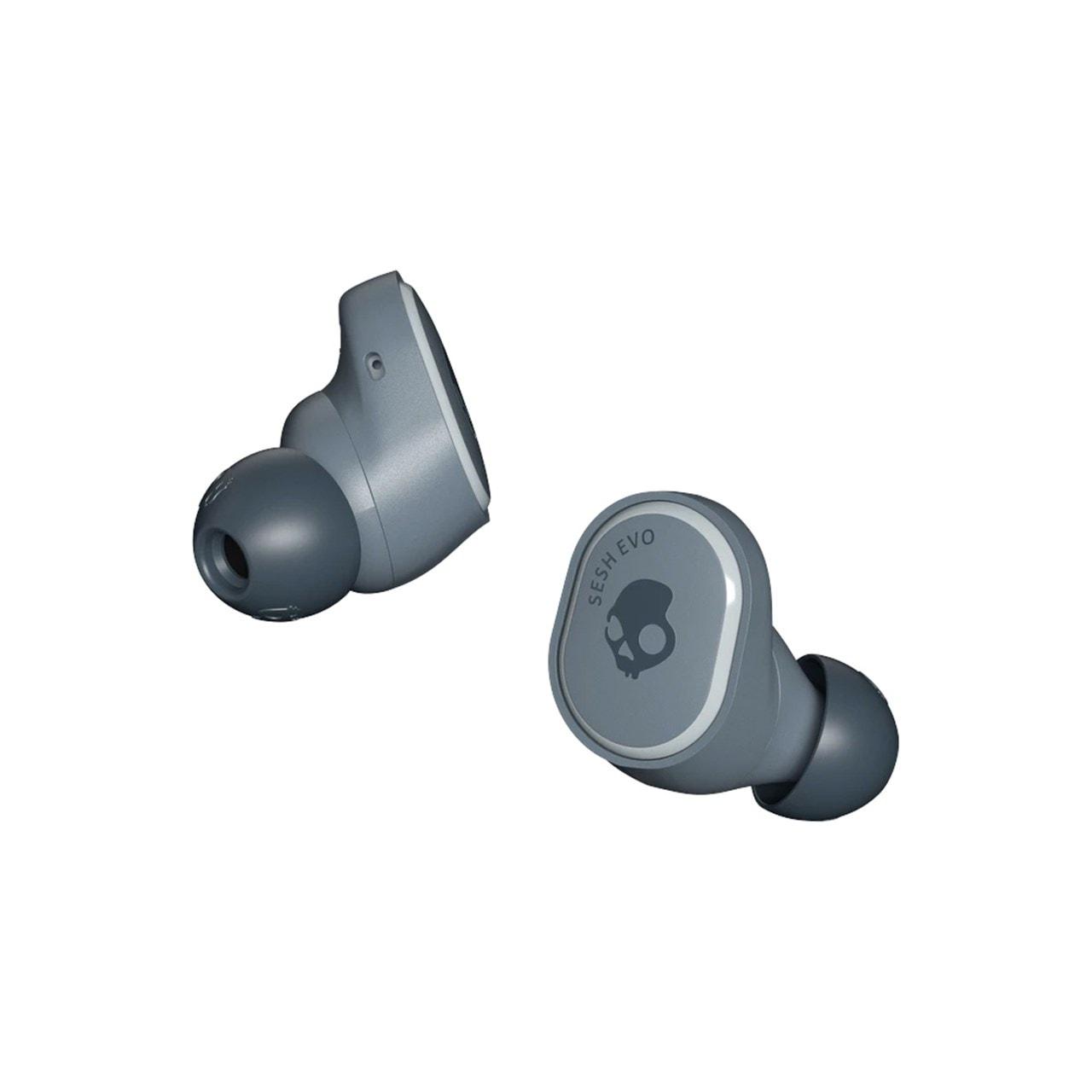Skullcandy Sesh Evo Chill Grey True Wireless Bluetooth Earphones - 3