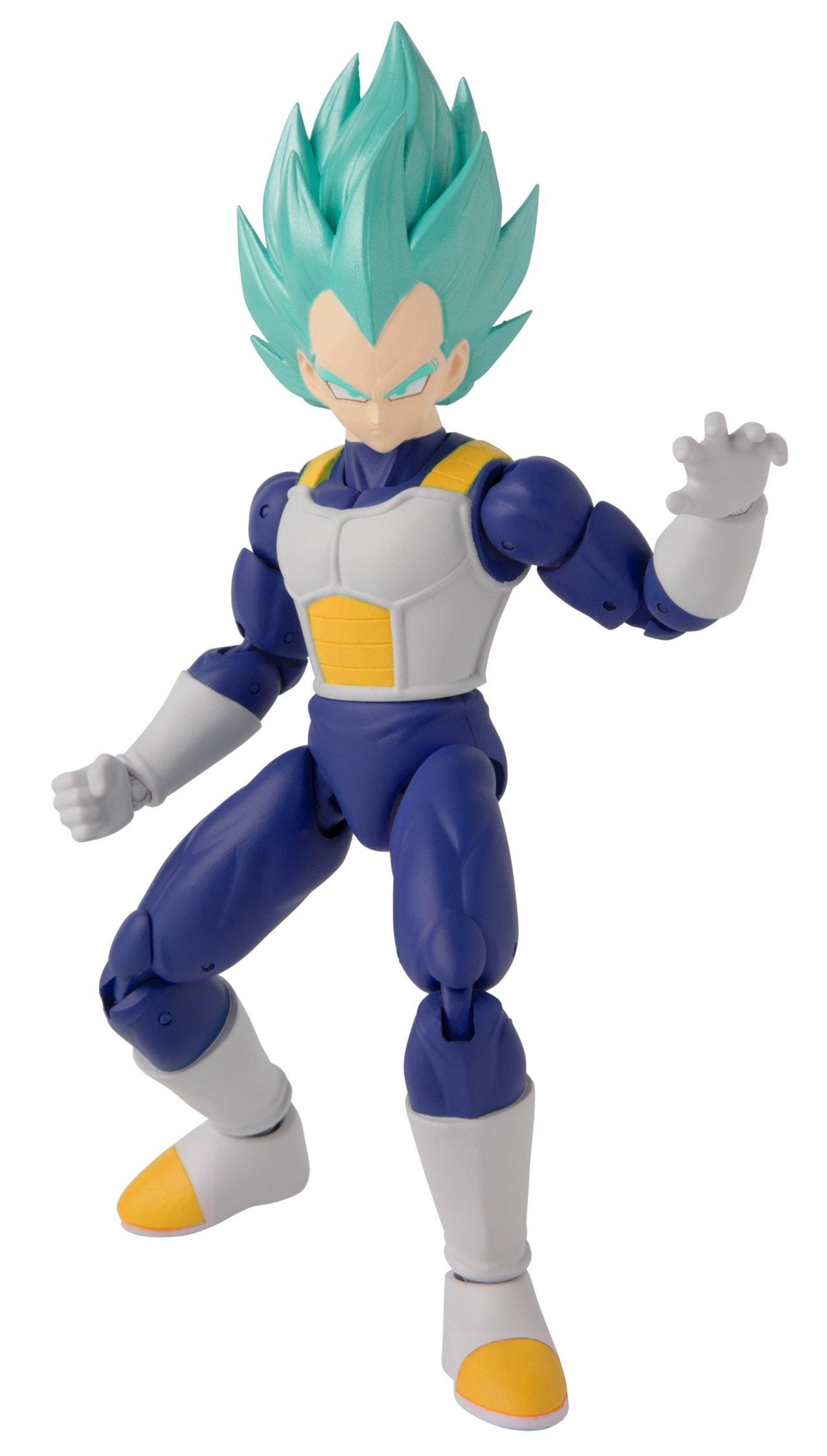 Dragon Ball Super: Dragon Stars Super Saiyan Blue Vegeta Figurine - 3