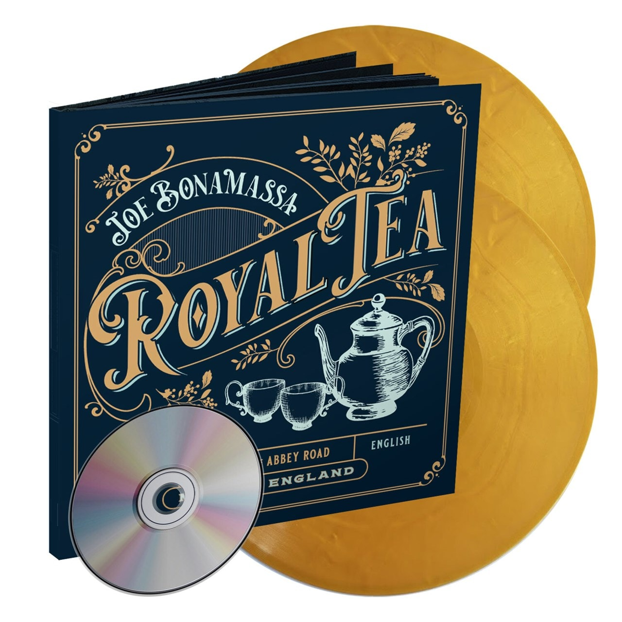 Royal Tea - Limited Edition Artbook with Gold Vinyl & CD - 1