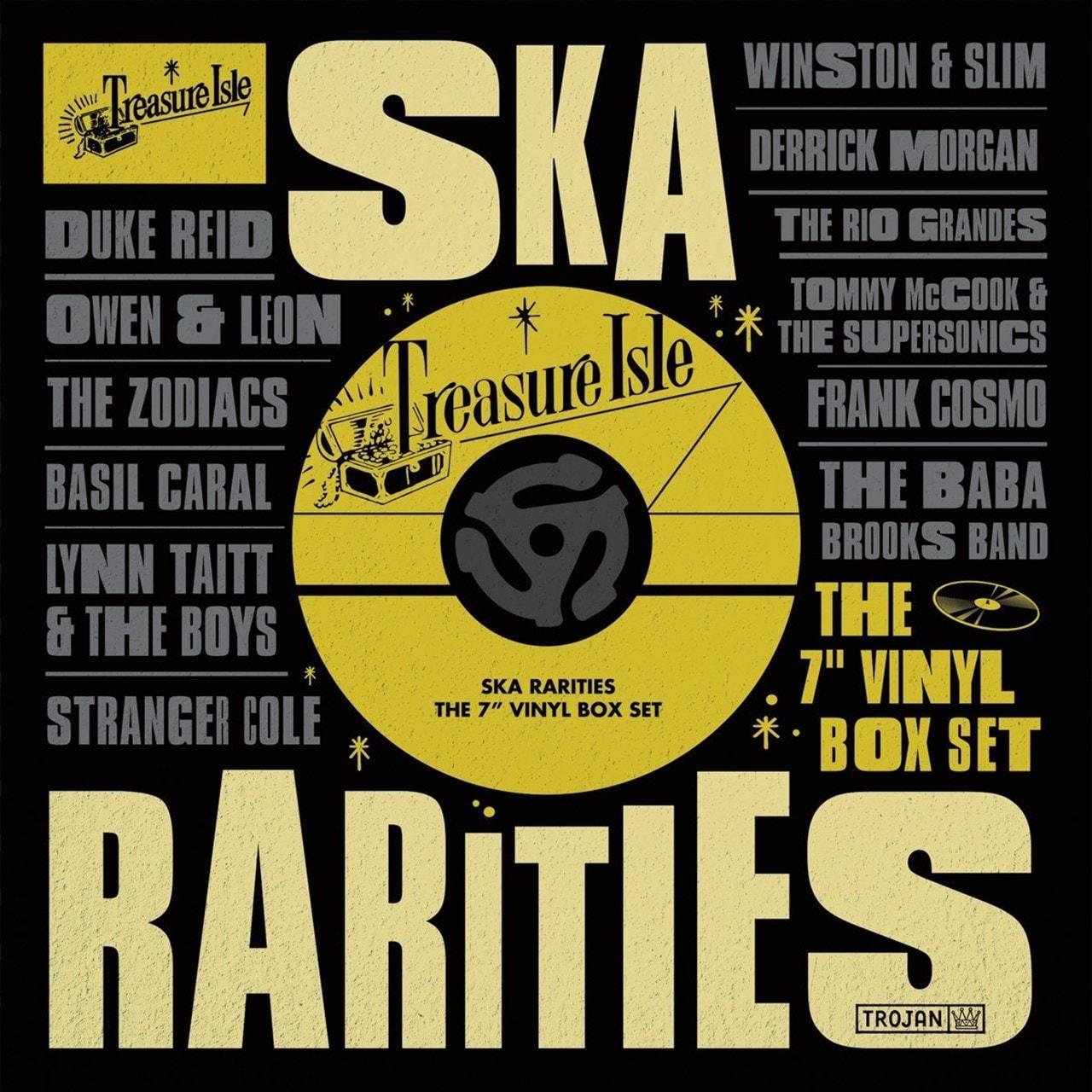 """Treasure Isle Ska Rarities: The 7"""" Vinyl Box Set - 1"""