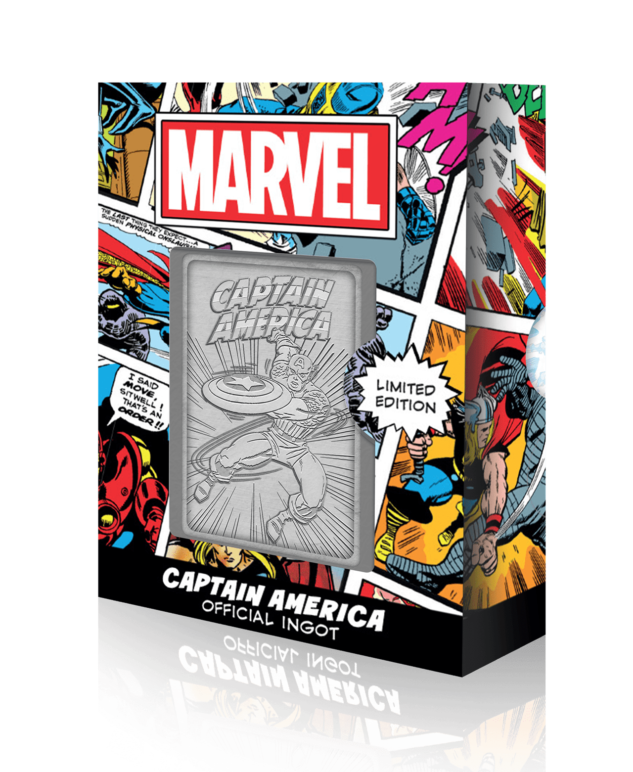 Captain America: Marvel Limited Edition Ingot Collectible - 1