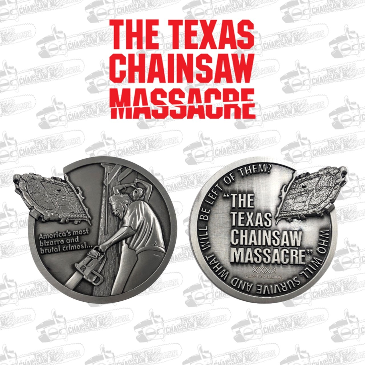 Texas Chainsaw Massacre Limited Edition Medallion - 1