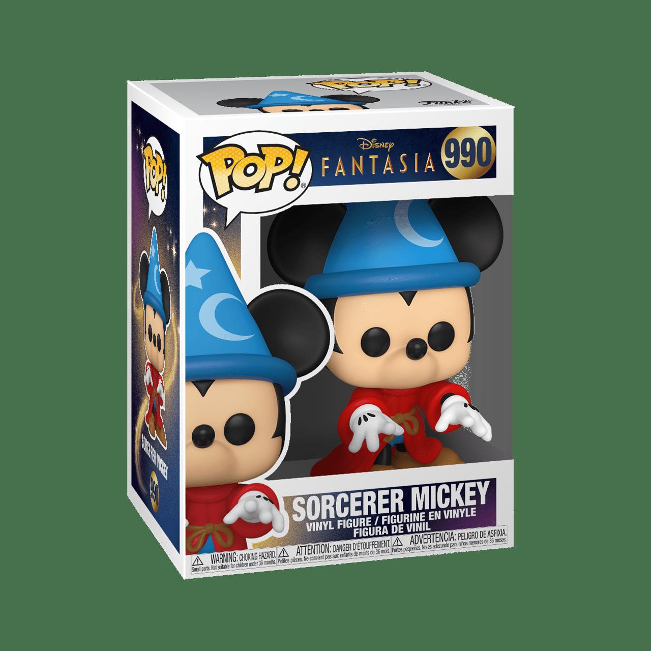 Sorcerer Mickey (990) Fantasia 80th Anniversary: Disney Pop Vinyl - 2