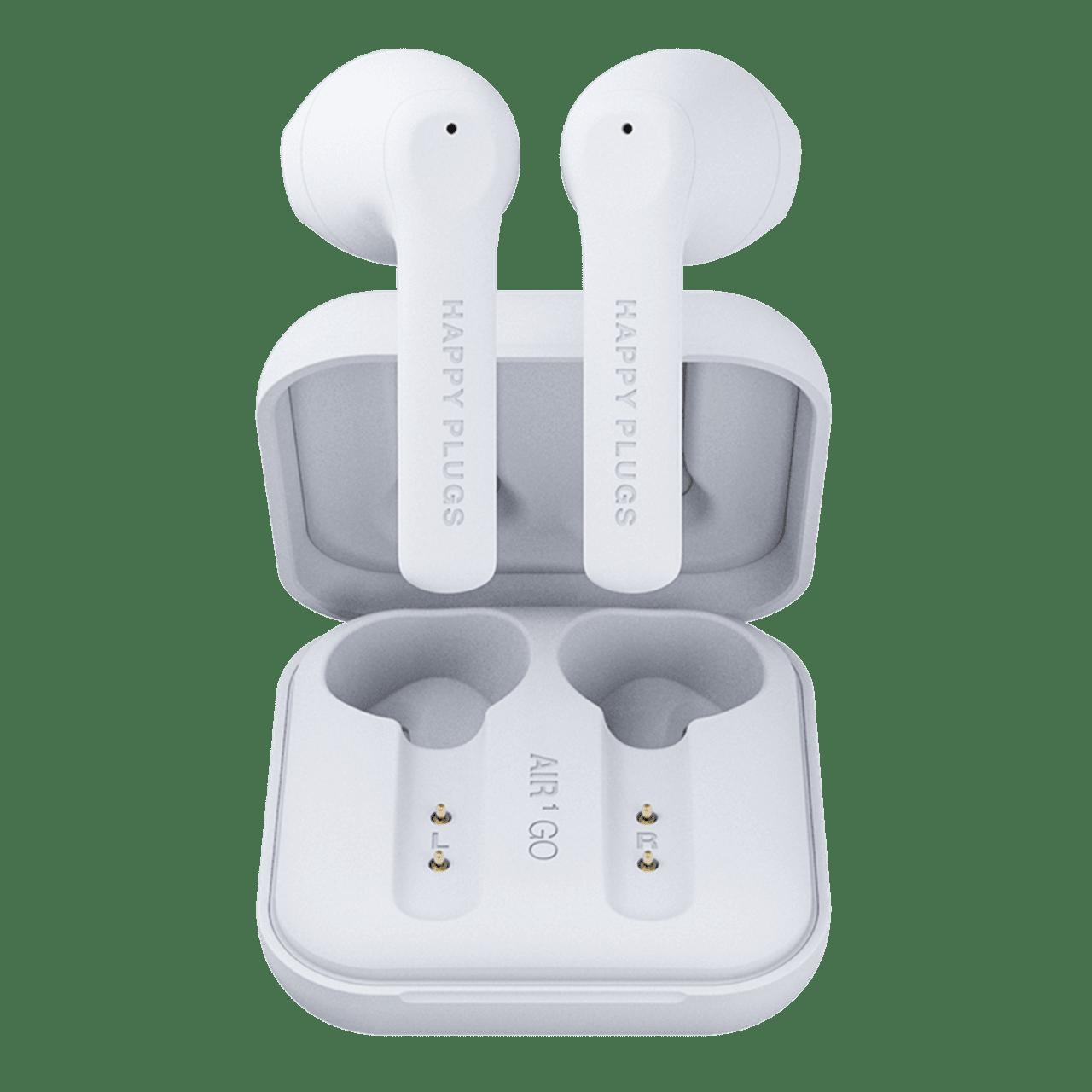 Happy Plugs Air1 GO White True Wireless Bluetooth Earphones - 3