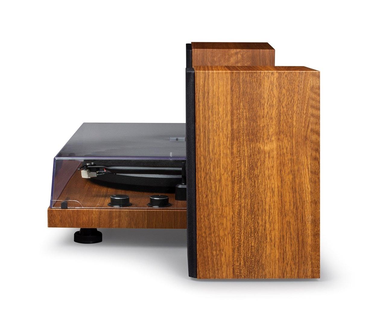 Crosley C62 Walnut Turntable & Speakers - 4