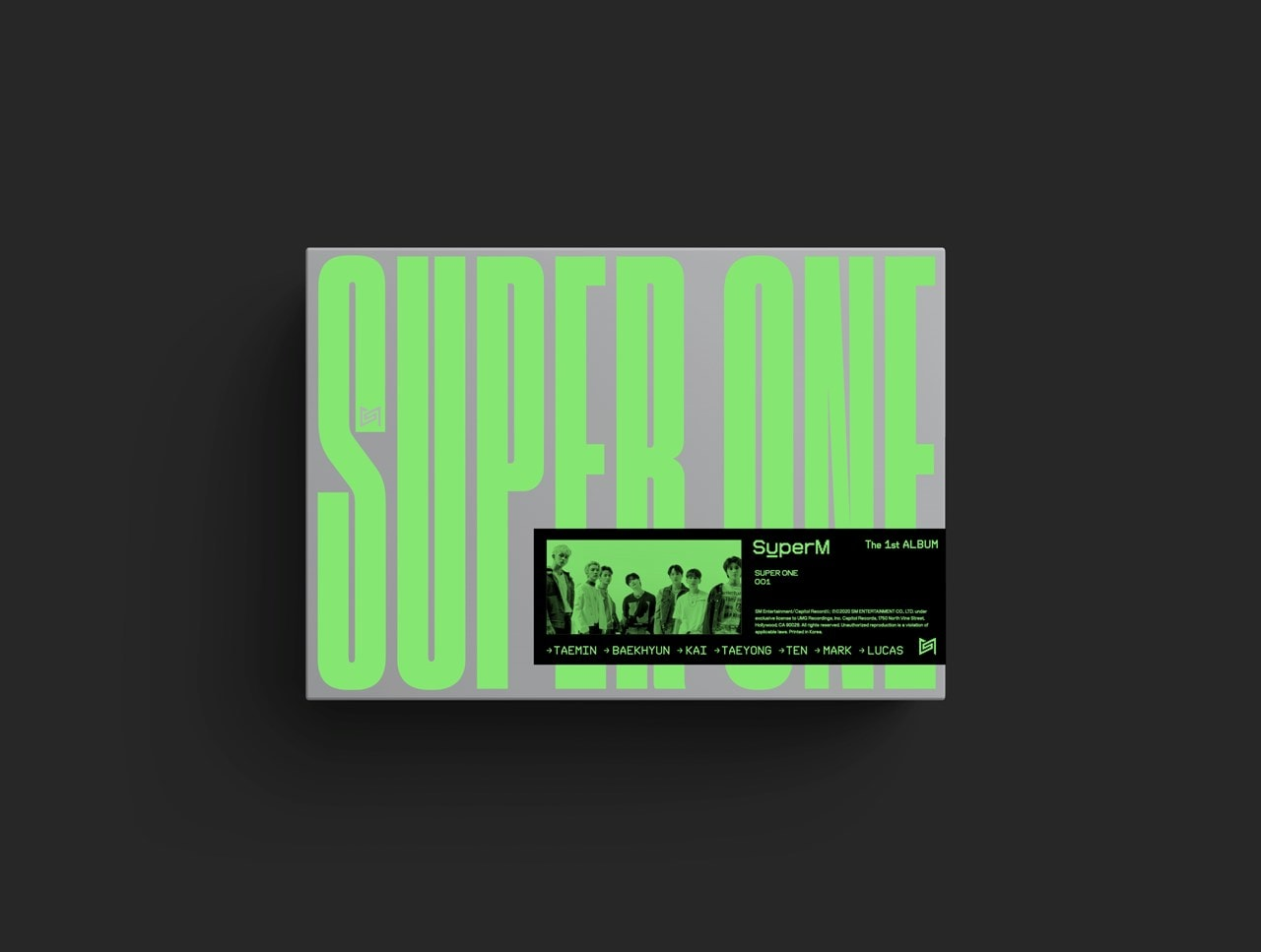 The 1st Album - Super One (One Ver.) - 1