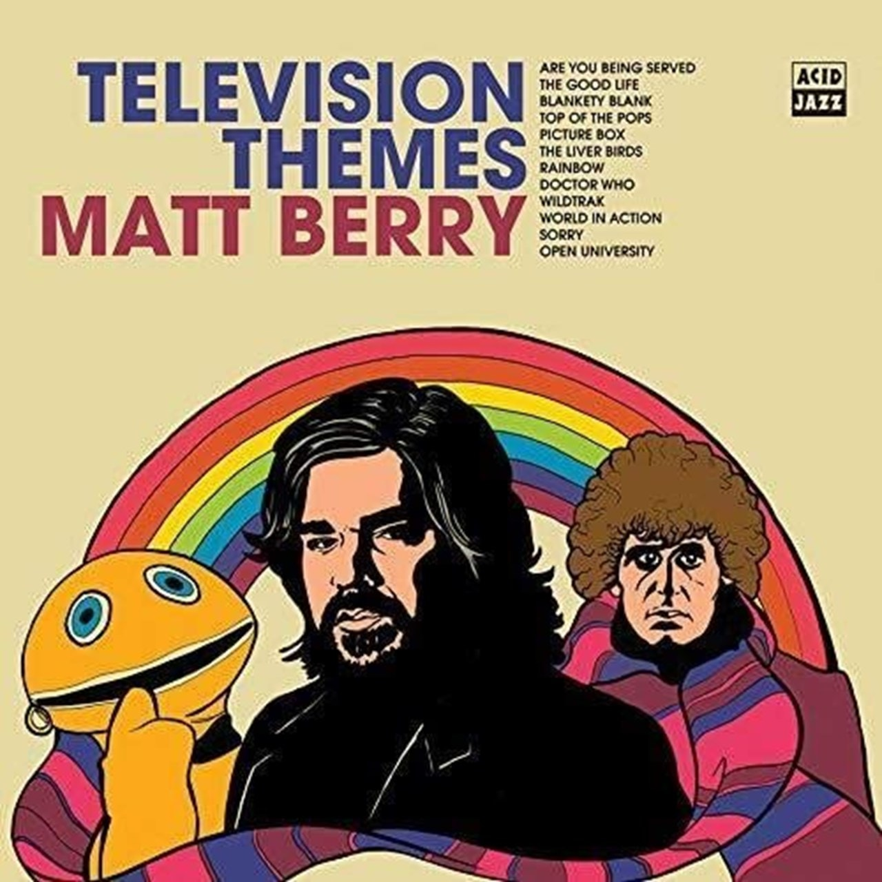 Television Themes - White Vinyl (LRS20) - 1