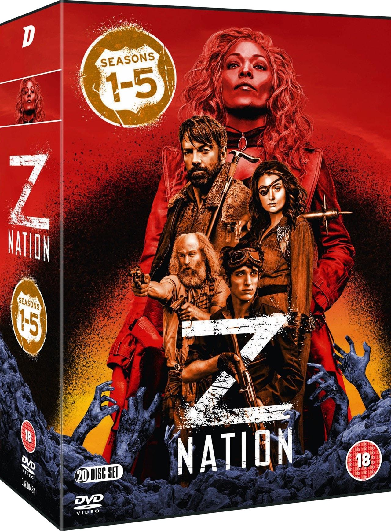 Z Nation: Seasons 1-5 - 2