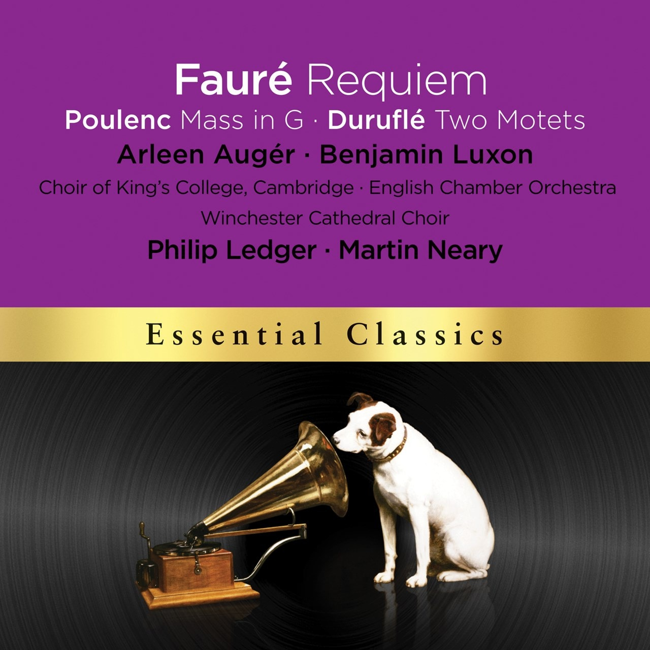 Faure: Requiem, Messe Basse/Poulenc: Mass in G/Durufle - 1