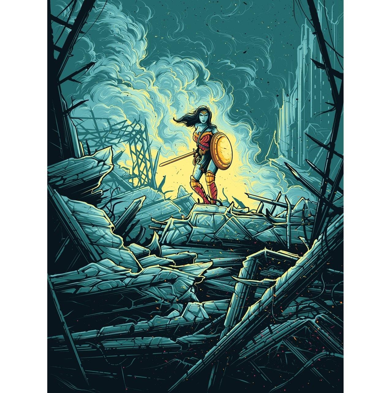 Wonder Woman Warrior Limited Edition Art Print - 1