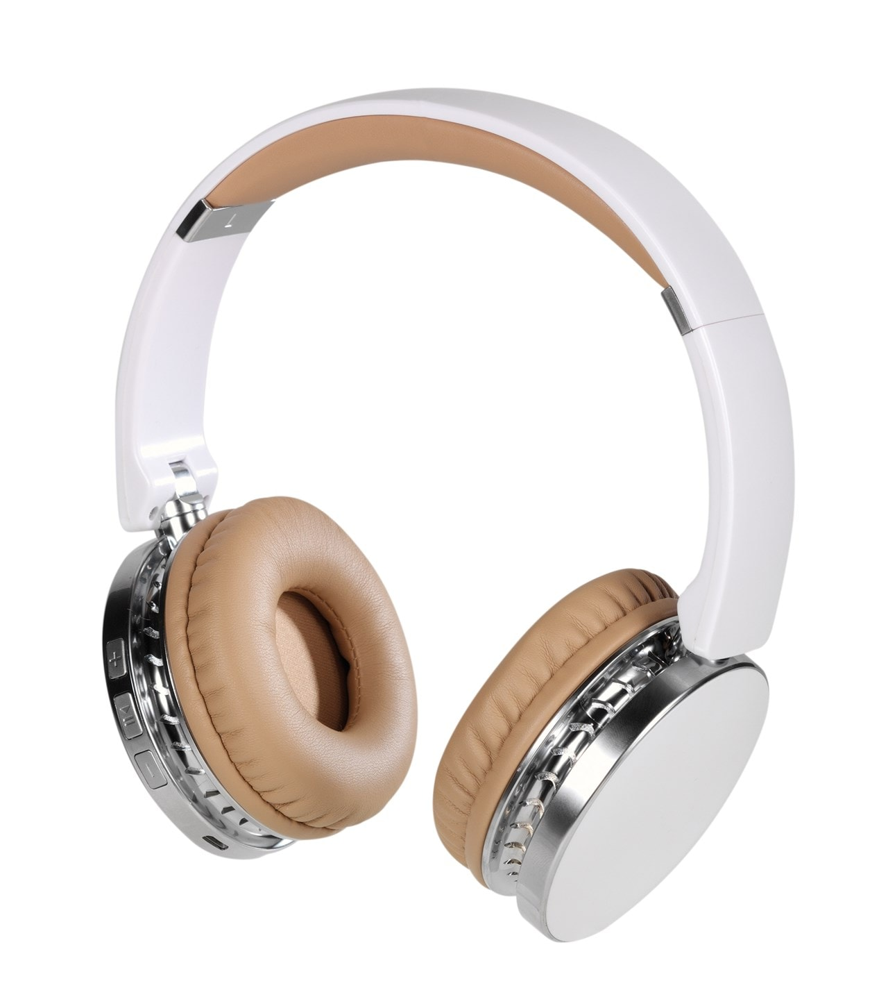 Vivanco Neos White Bluetooth Headphones - 1