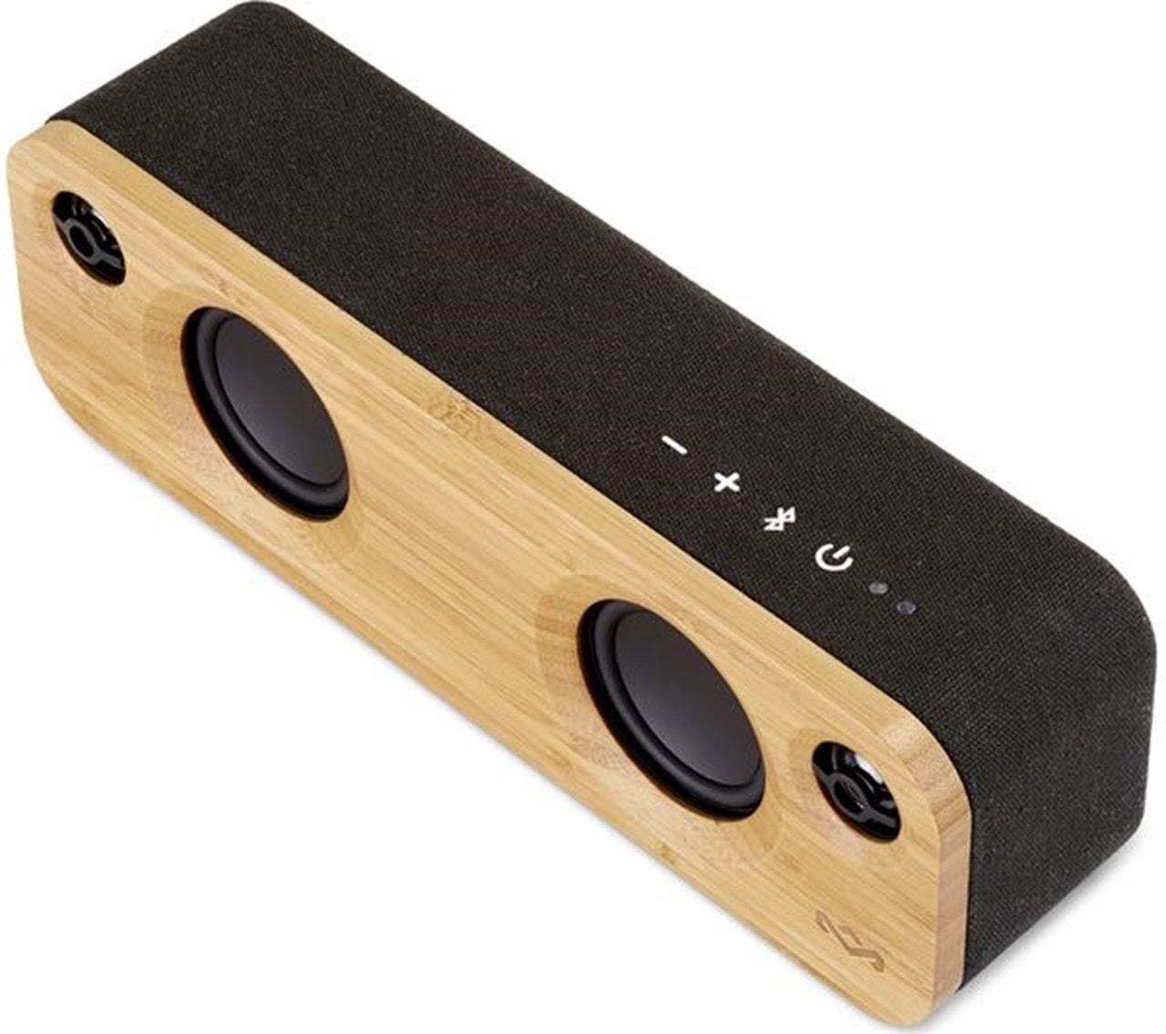 House Of Marley Get Together Mini Signature Black Bluetooth Speaker - 2