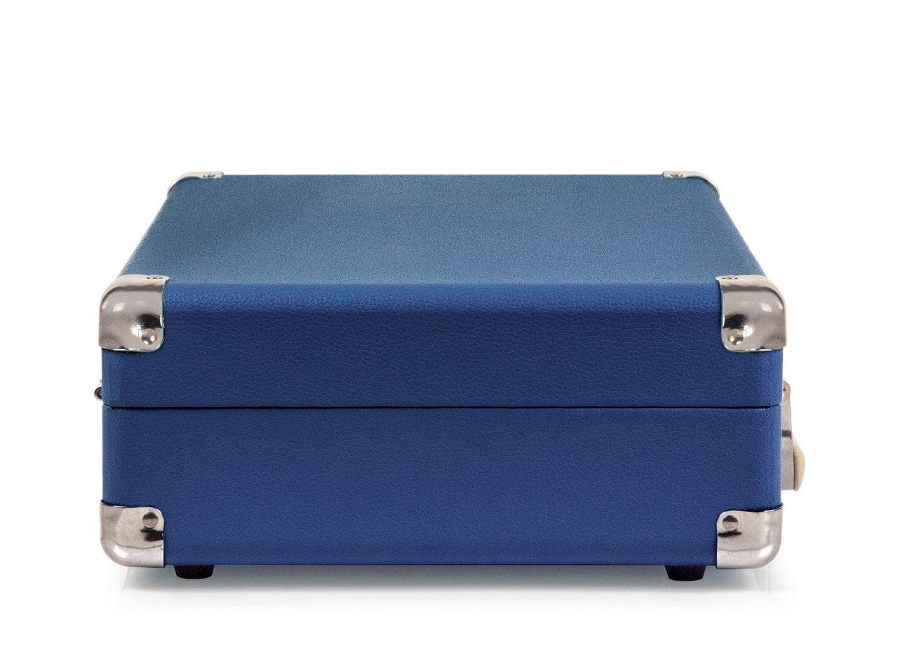 Crosley Cruiser Deluxe Blue Turntable - 4