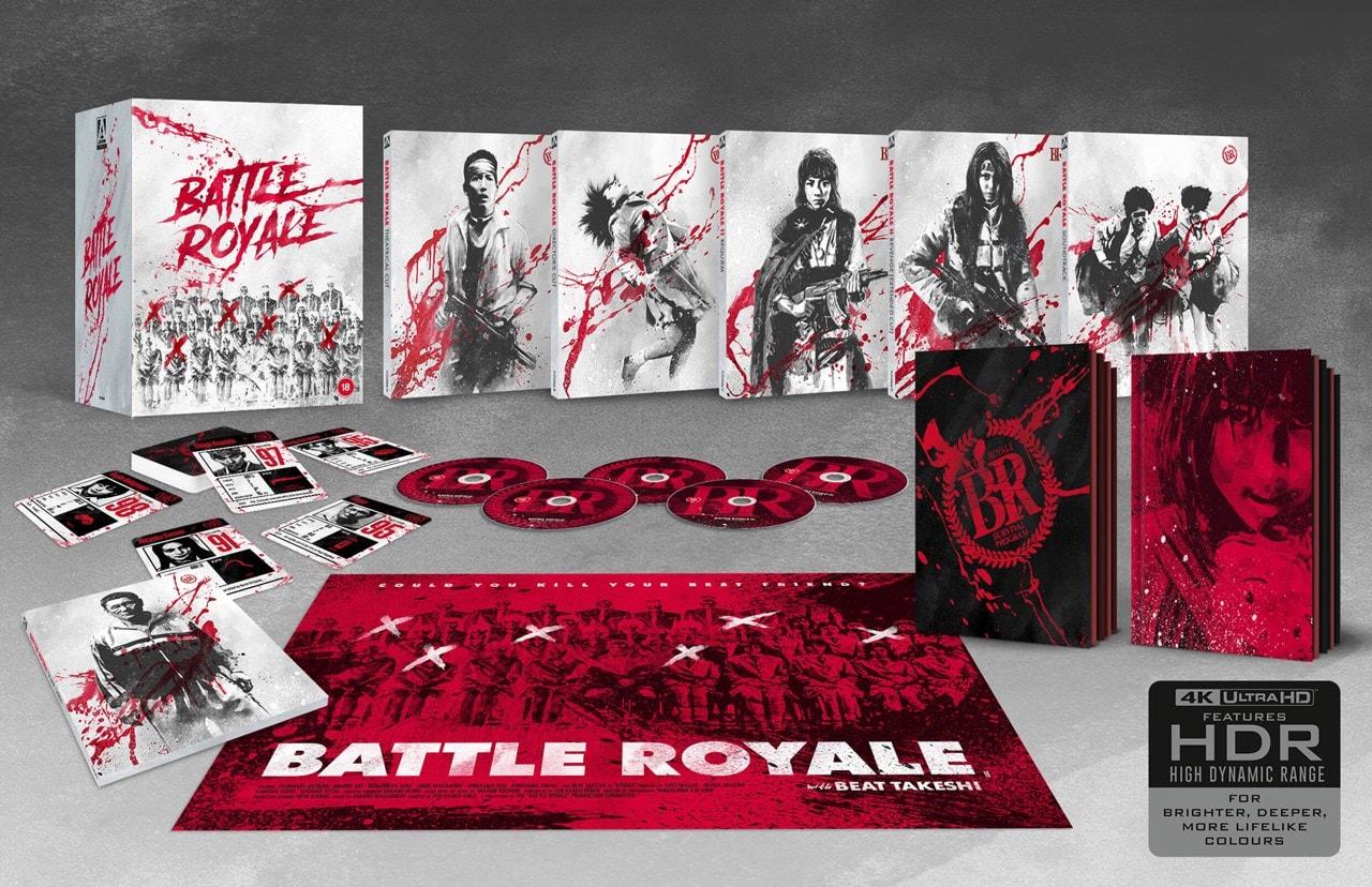 Battle Royale: Limited Edition 4K Ultra HD Blu-ray - 1