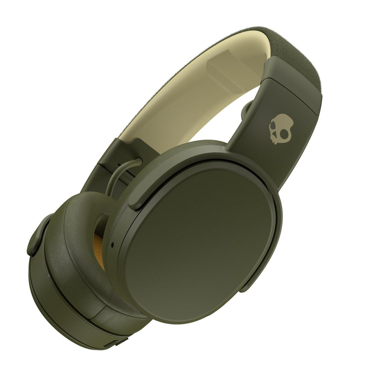 Skullcandy Crusher Moss/Olive/Yellow Bluetooth Headphones - 2