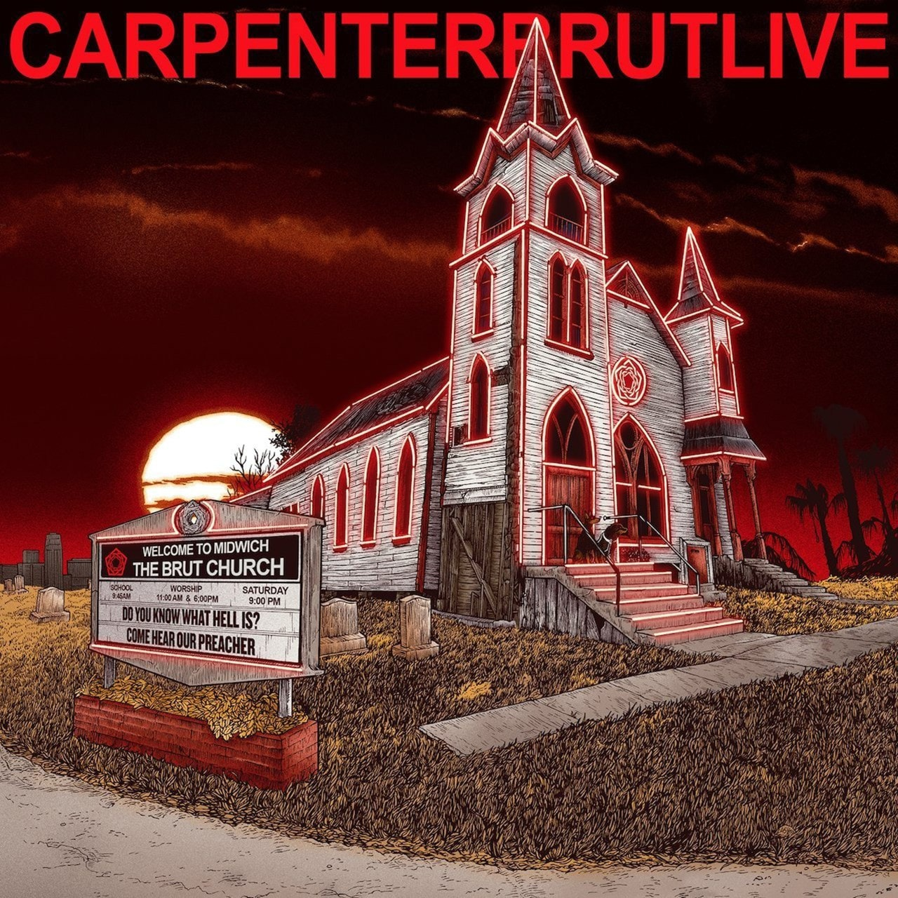 Carpenter Brut Live - 1