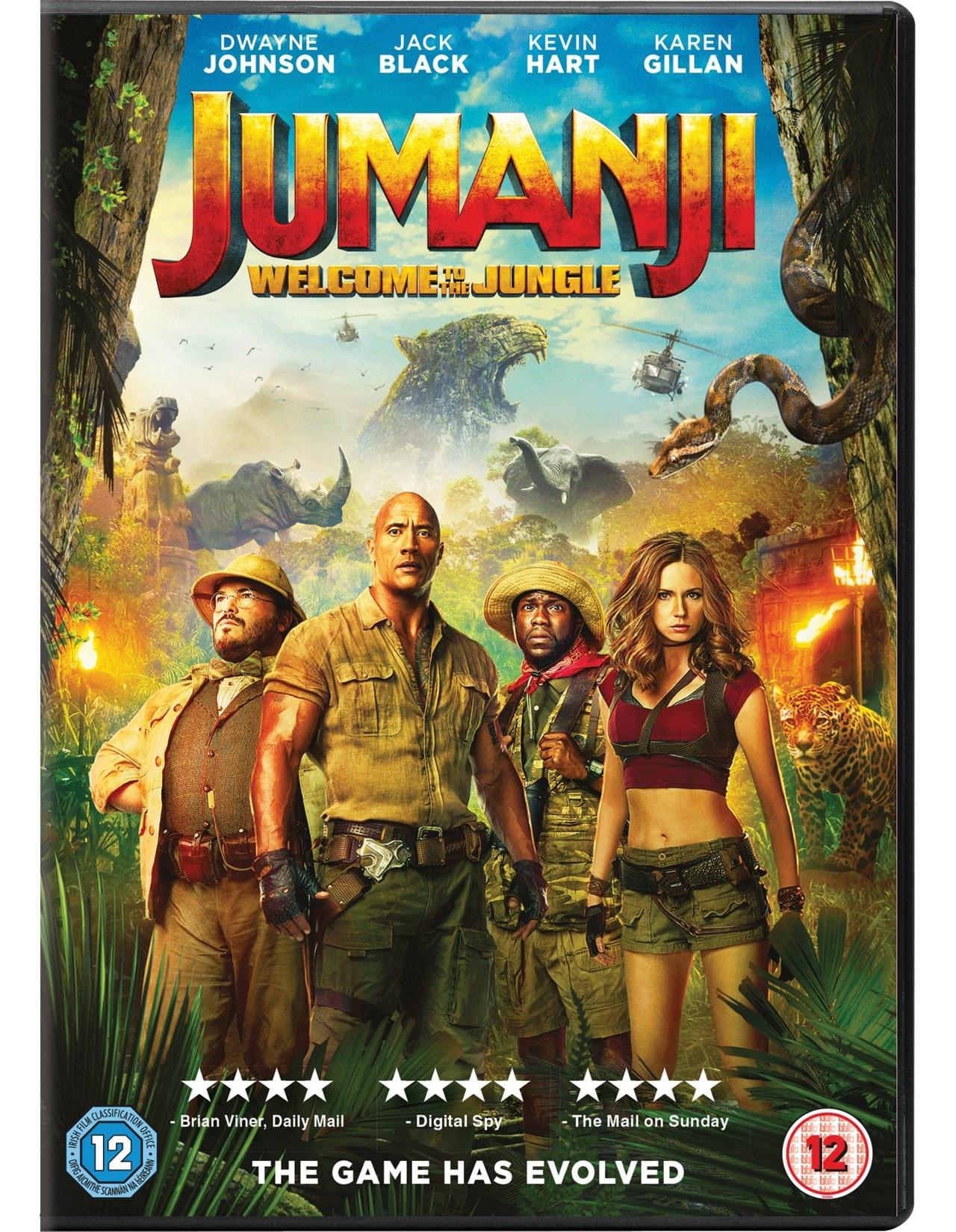 Jumanji: Welcome to the Jungle - 1