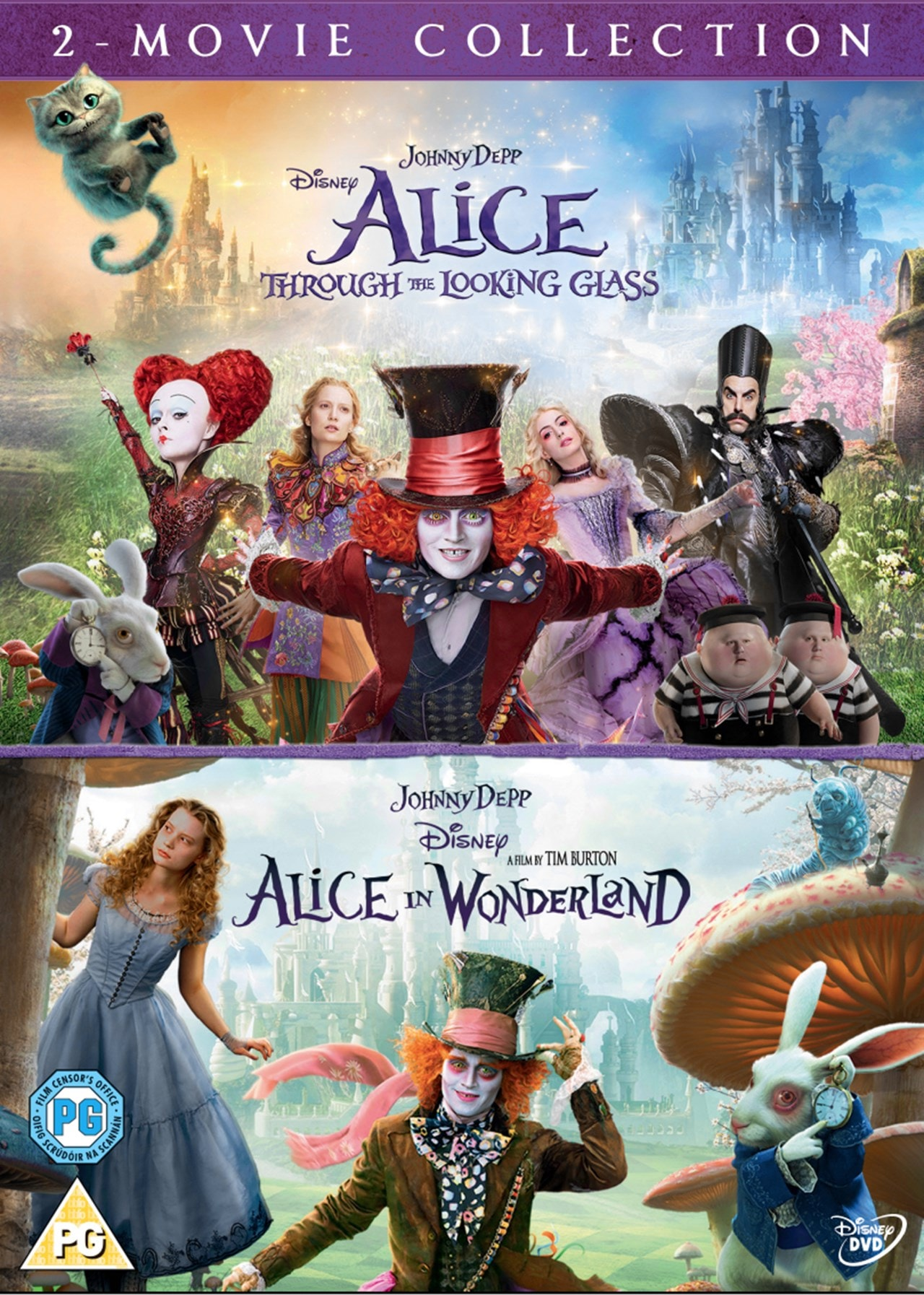 Alice in Wonderland/Alice Through the Looking Glass - 1