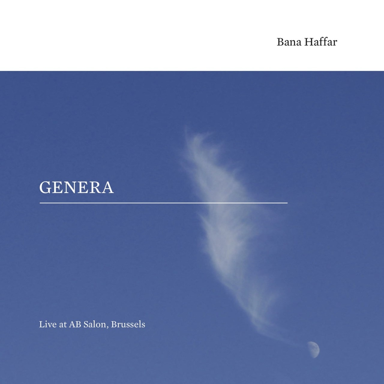Genera: Live at AB Salon, Brussels - 1