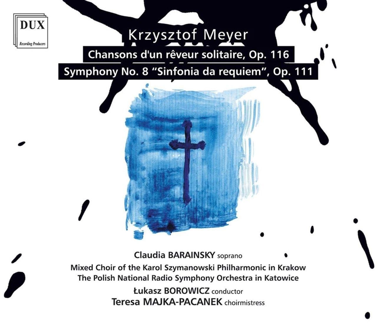 Krzysztof Meyer: Chansons D'un Reveur Solitaire, Op. 116/... - 1