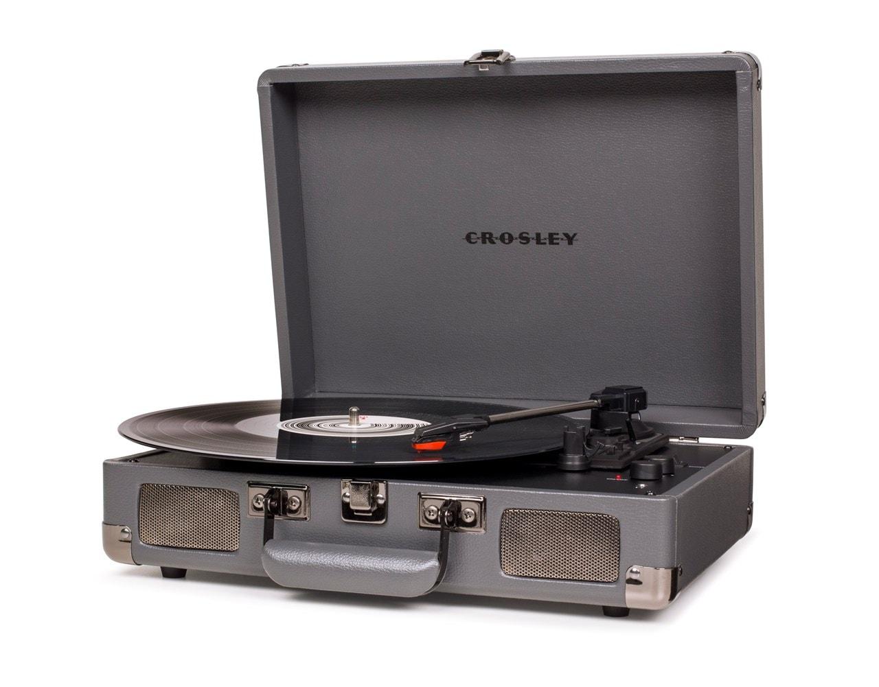 Crosley Cruiser Deluxe Slate Turntable - 1