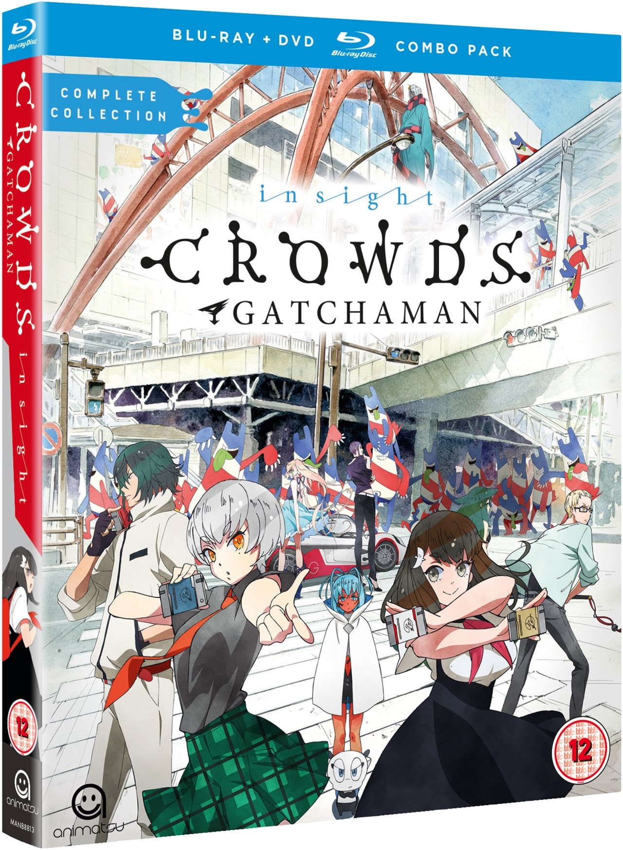 Gatchaman Crowds Insight - 2