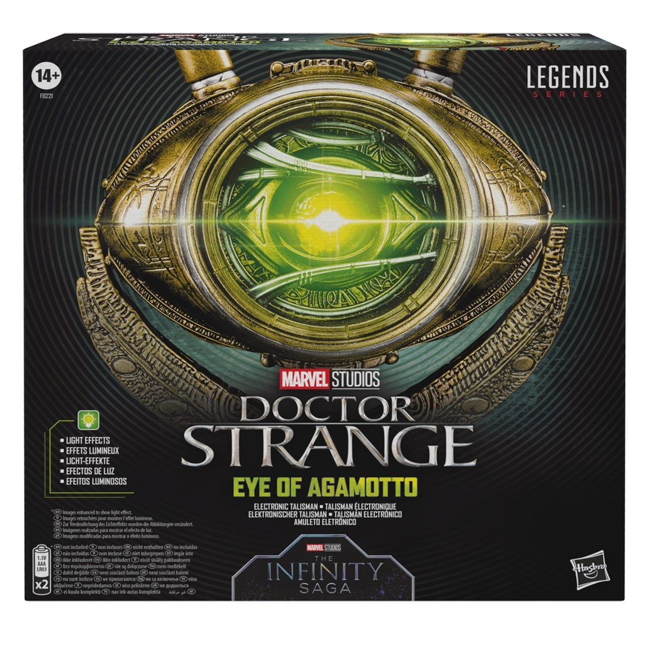 Hasbro Marvel Legends Doctor Strange Eye of Agamotto Replica - 2