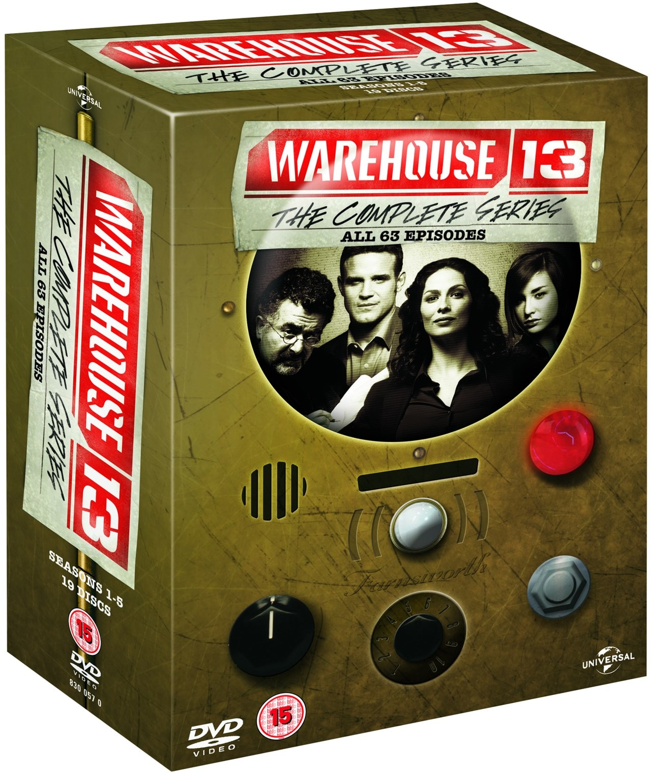 Warehouse 13: The Complete Series - 2