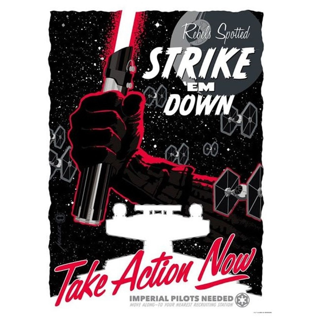 Star Wars: Take Action Now: Limited Edition Art Print - 1