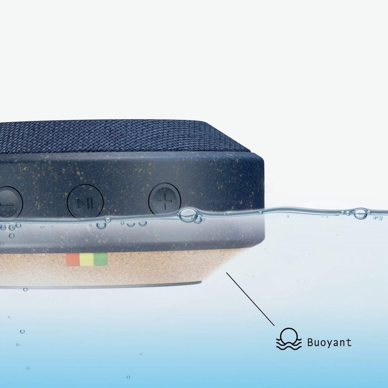 House Of Marley No Bounds Blue Bluetooth Speaker - 4
