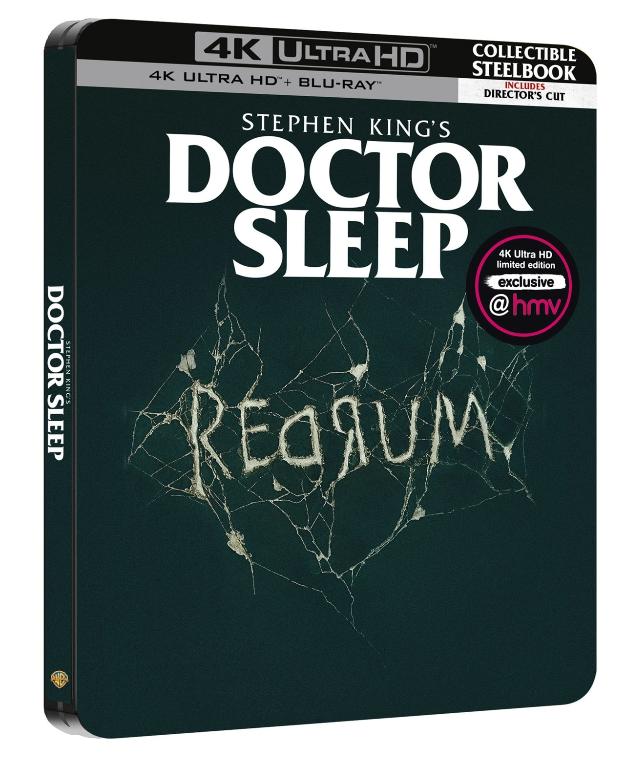 Doctor Sleep (hmv Exclusive) Limited Edition 3-Disc Director's Cut Steelbook - 2