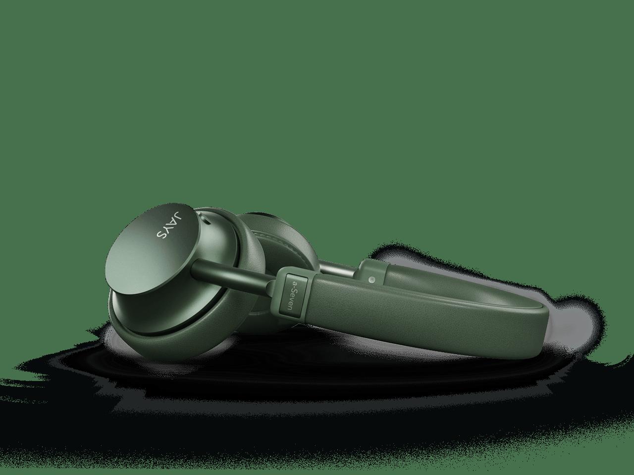 Jays A-Seven Green Bluetooth Headphones - 2
