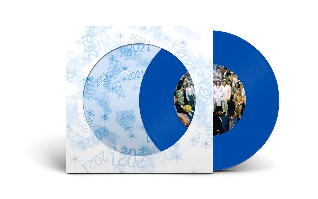 Happy New Year - Limited Edition Clear Blue Vinyl - 1