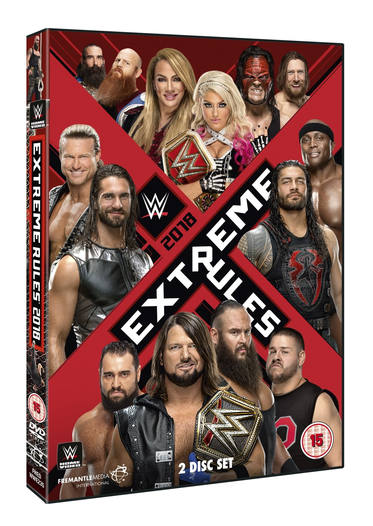 WWE: Extreme Rules 2018 - 1