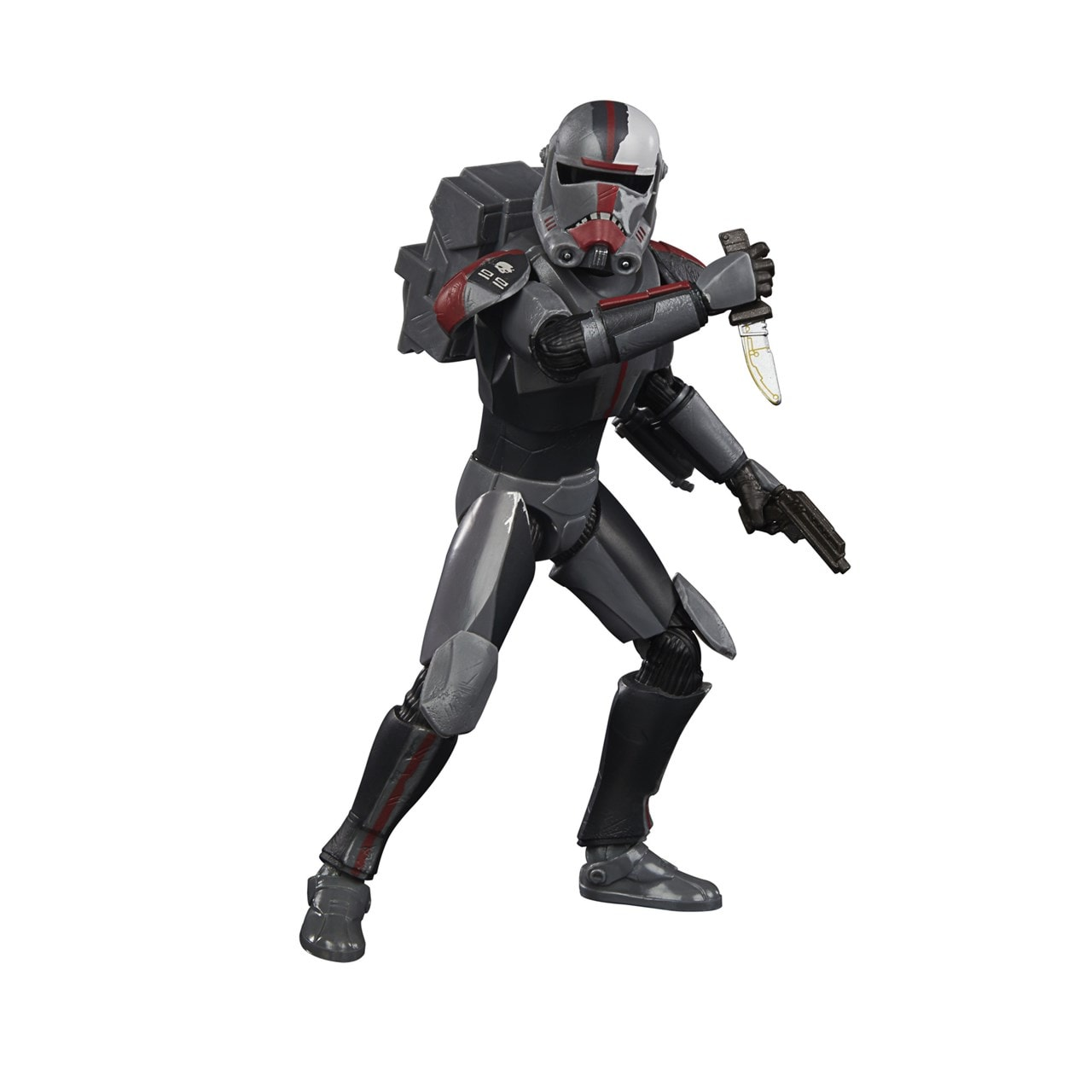 Bad Batch Hunter: Clone Wars: Star Wars Black Series Action Figure - 3
