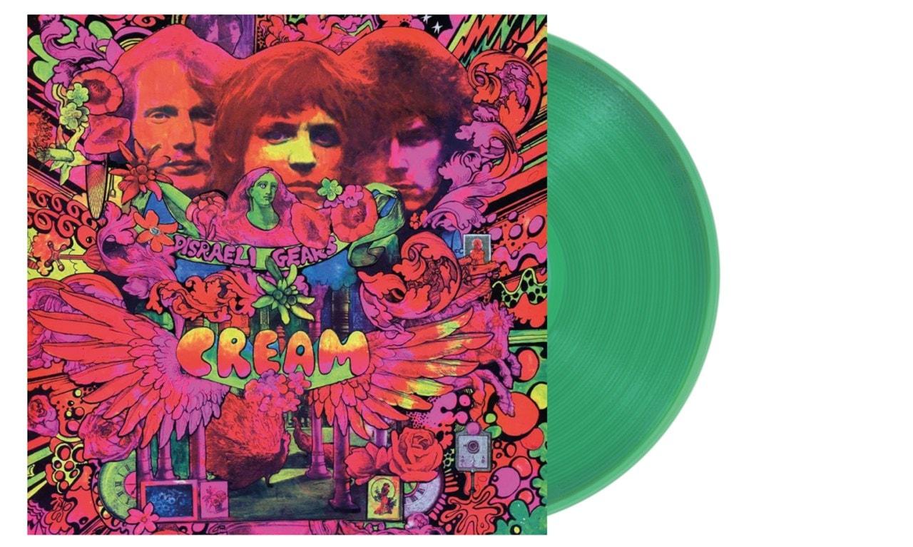 Disraeli Gears - Transparent Green Vinyl - 1