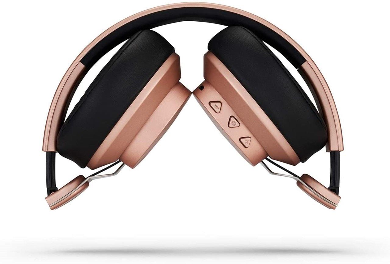 Mixx Audio JX2 Rose Gold Over Ear Bluetooth Headphones - 3