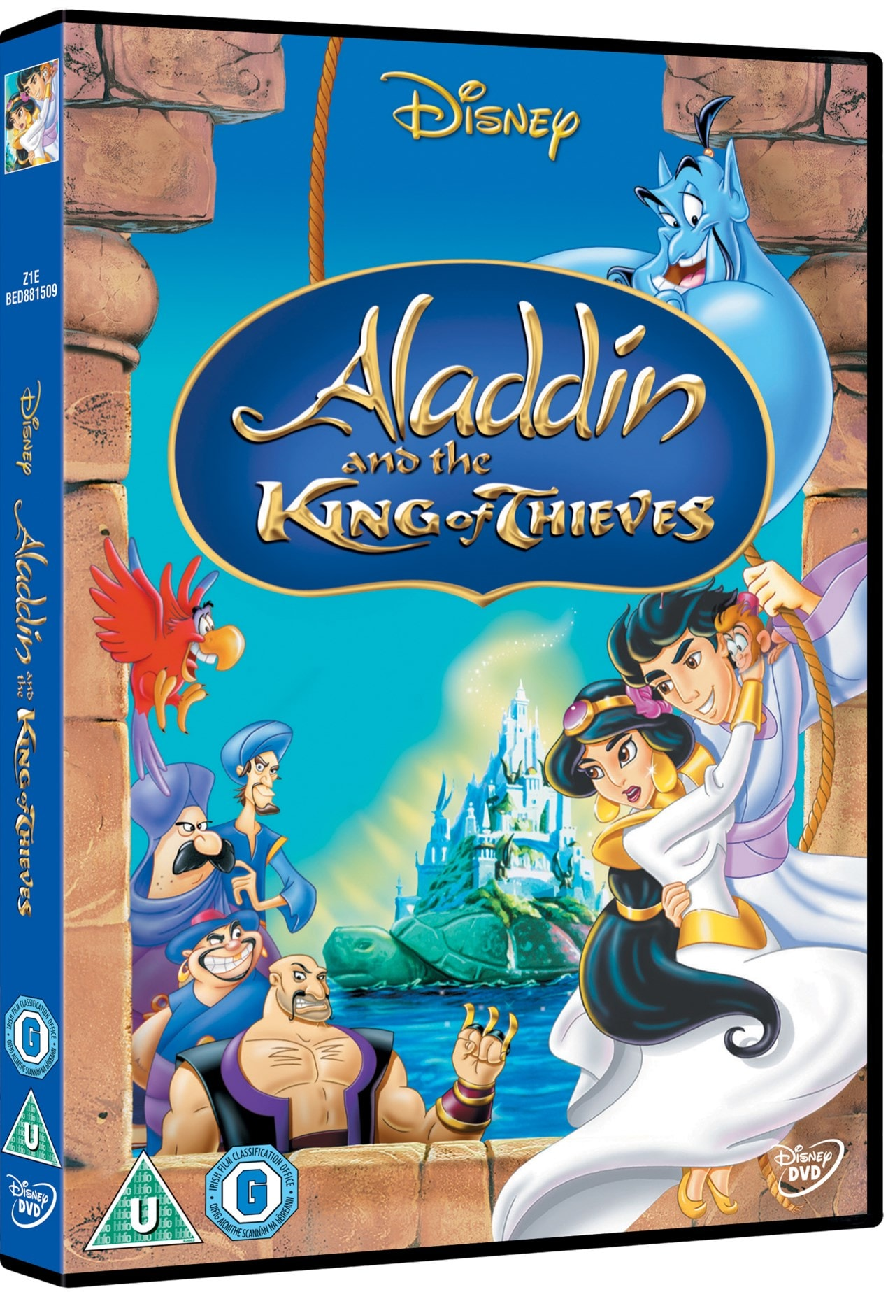 Aladdin And The King Of Thieves Dvd Free Shipping Over 20 Hmv Store