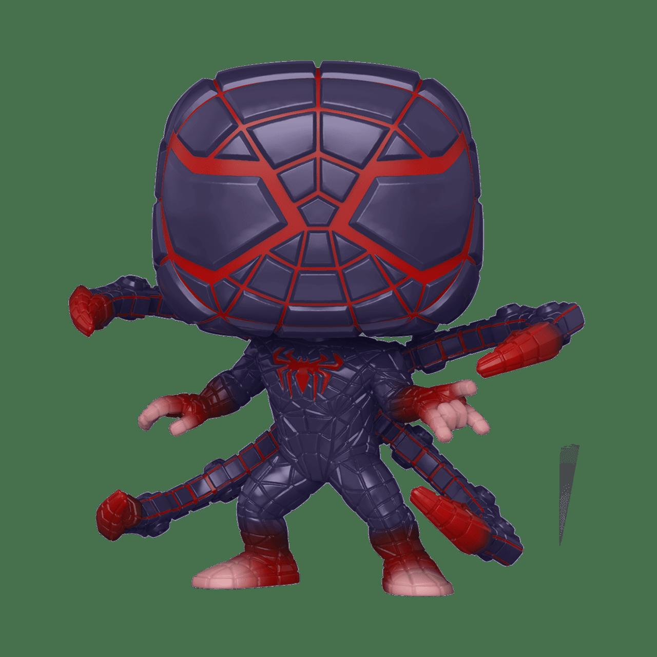 Miles Morales: Programmable Matter Suit (773) Spider-Man Game: Marvel Pop Vinyl - 1