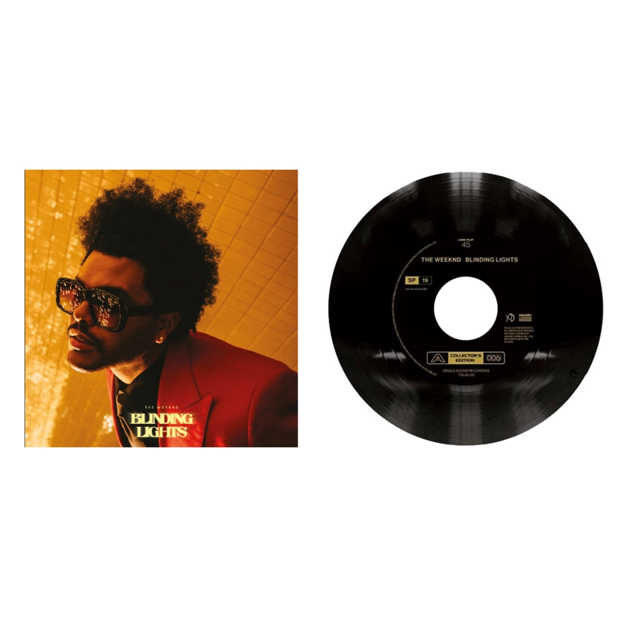 """After Hours (hmv Exclusive) CD With Free 7"""" Vinyl - 2"""