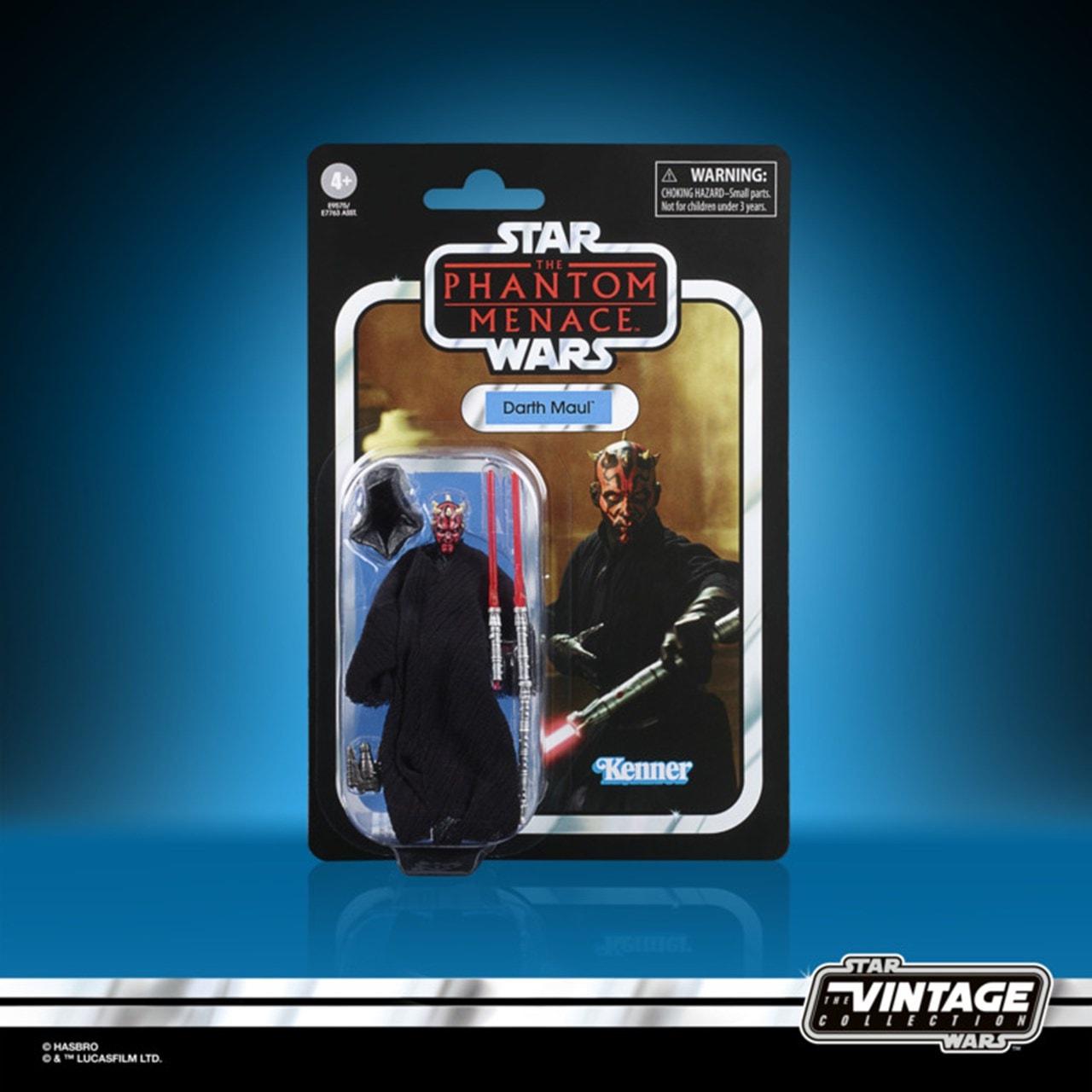 Darth Maul: Phantom Menace: Star Wars Vintage Action Figure - 4