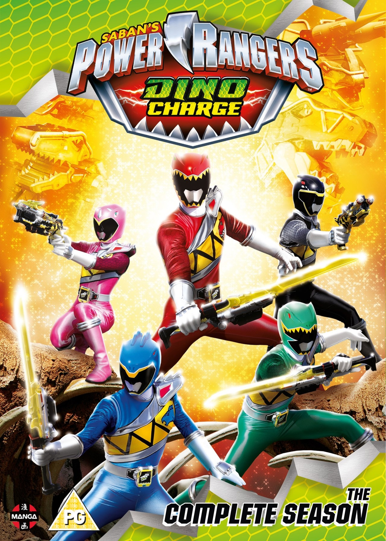 Power Rangers Dino Charge: The Complete Season - 1