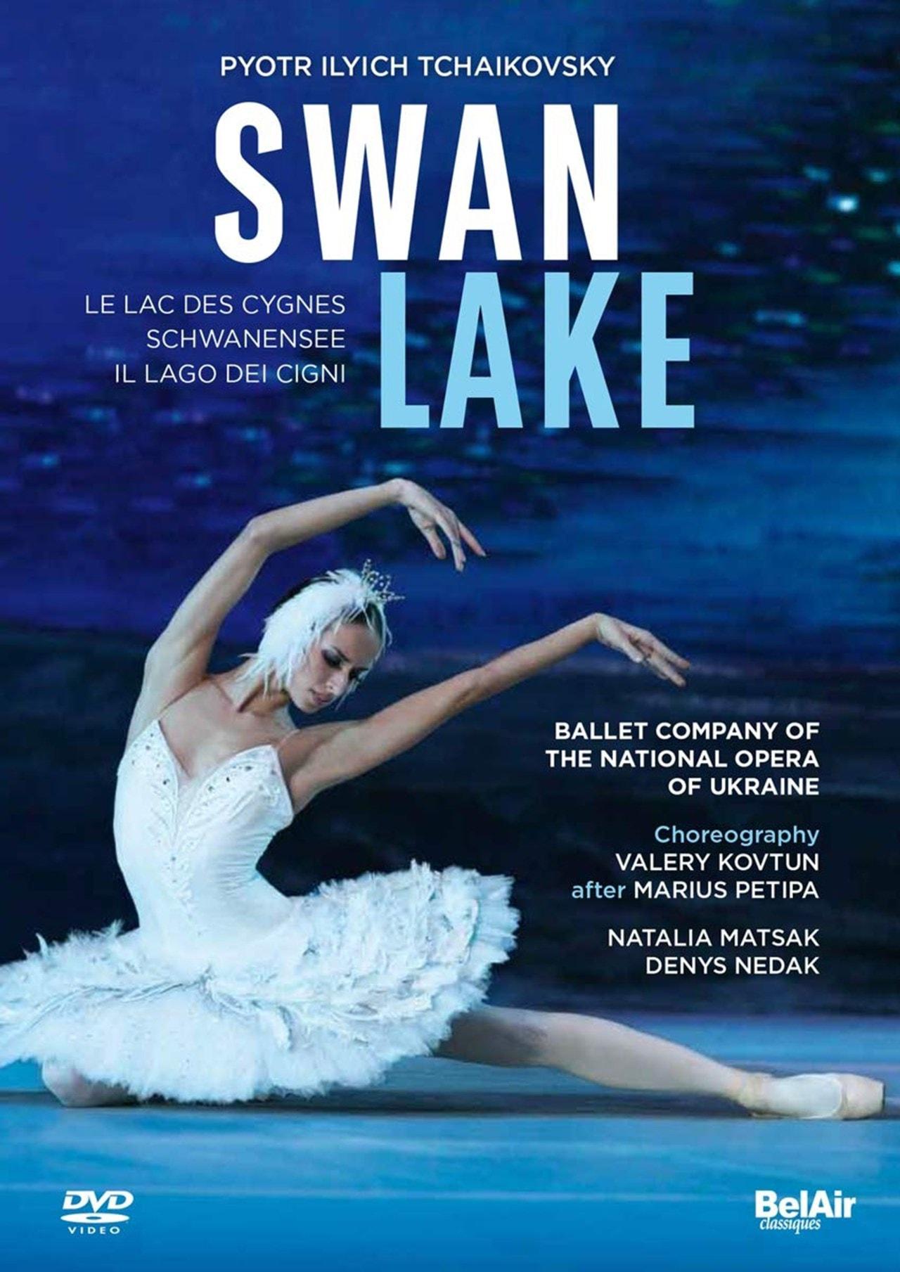 Swan Lake: Ballet Company of National Opera Ukraine (Dyadura) - 1