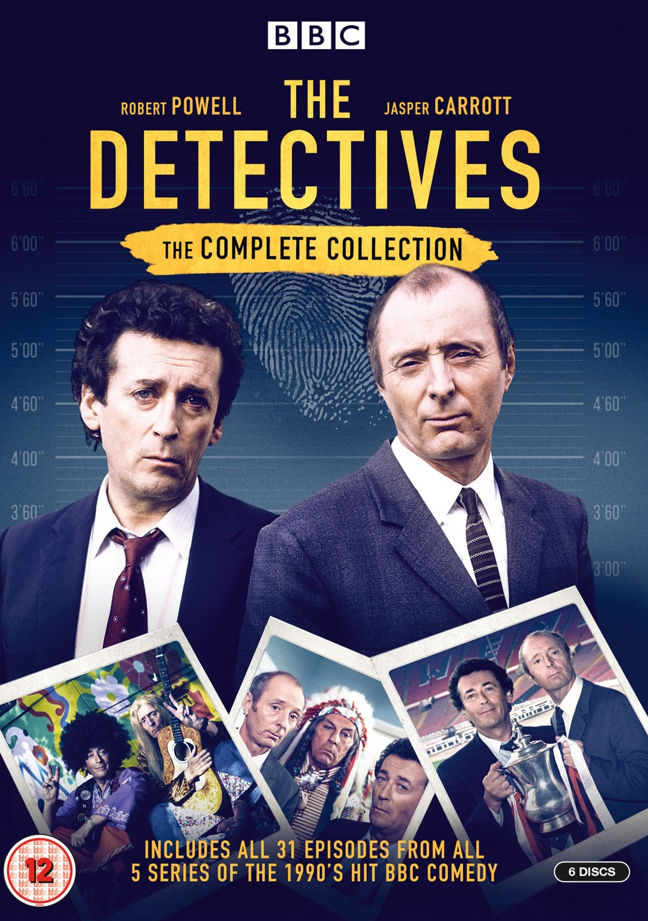 The Detectives: The Complete Collection - 1